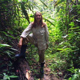 Blondynka w samo południe (009) – W dżungli amazońskiej