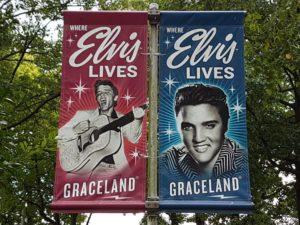 Przed domem Elvisa Presleya, fot. Beata Pawlikowska