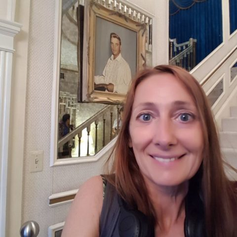 W hallu w domu Elvisa Presleya, fot. Beata Pawlikowska