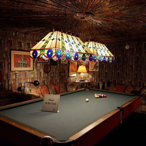 Pokój bilardowy w domu Elvisa Presleya, fot. Beata Pawlikowska