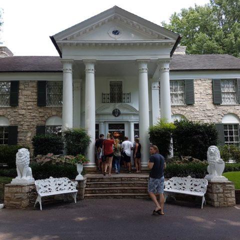 Graceland - dom Elvisa Presleya w Memphis, fot. Beata Pawlikowska
