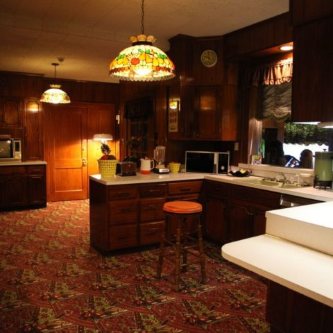 Kuchnia w domu Elvisa Presleya, fot. Beata Pawlikowska