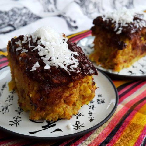 Ciasto kokosowe z bakaliami,  fot. Beata Pawlikowska