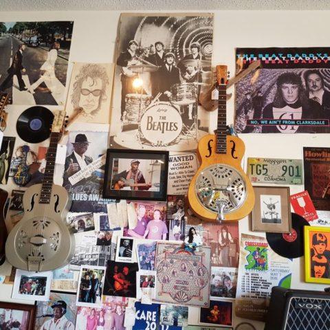 W sklepie z gitarami, Clarksdale, fot. Beata Pawlikowska