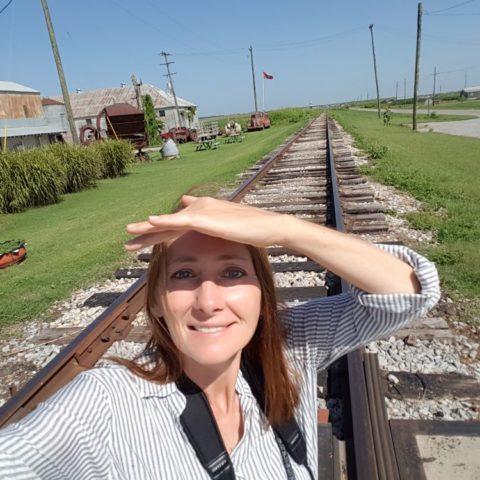 Na torach w Mississippi, USA, fot. Beata Pawlikowska