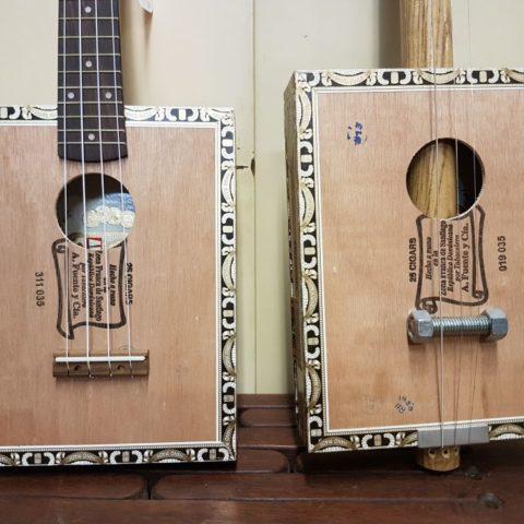 Gitary z pudełek po cygar, fot. Beata Pawlikowska