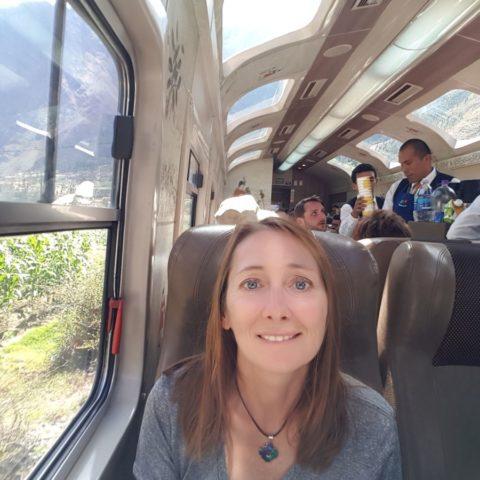 W pociągu do Machu Picchu,  fot. Beata Pawlikowska