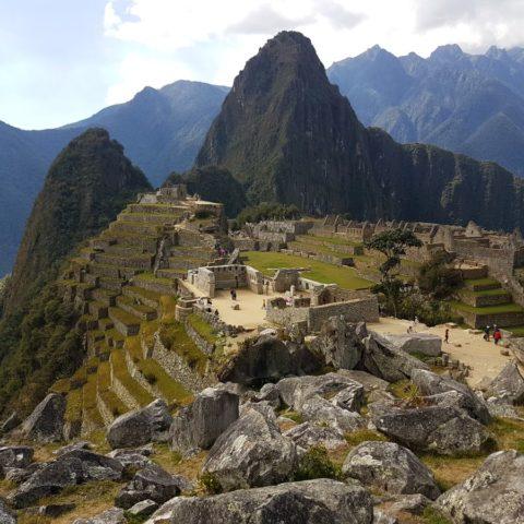 W Machu Picchu,  fot. Beata Pawlikowska