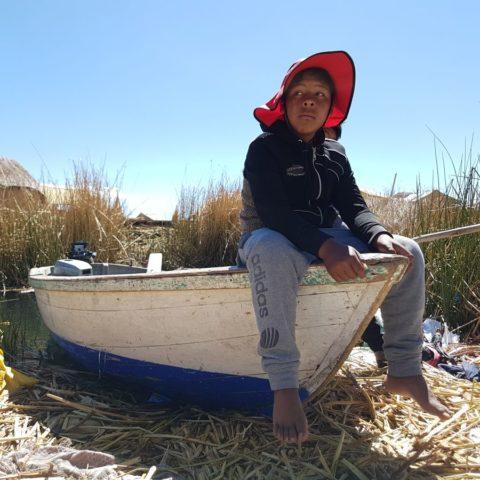 Na jeziorze Titicaca, fot. Beata Pawlikowska