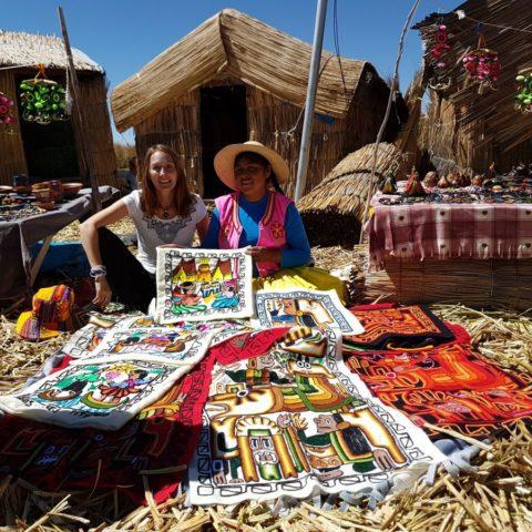 Na jeziorze Titicaca