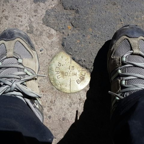 Jedną nogą w Peru, drugą nogą w Boliwii, fot. Beata Pawlikowska