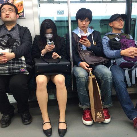 W japońskim pociągu, fot. Beata Pawlikowska