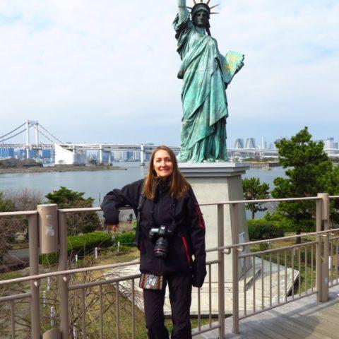 Statu Wolności w Tokio
