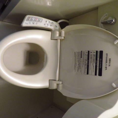 Japońska toaleta z fontanną, fot. Beata Pawlikowska