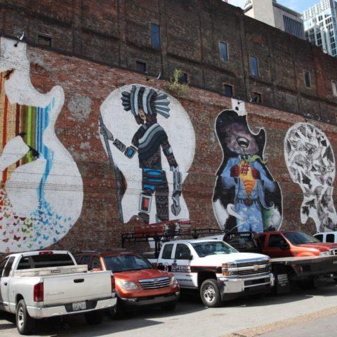 Mural w Memphis, fot. Beata Pawlikowska