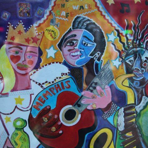 Memphis w stylu Picassa, fot. Beata Pawlikowska