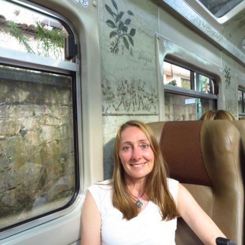 W pociągu do Machu Picchu, Peru, W pociągu w Japonii, fot. Beata Pawlikowska