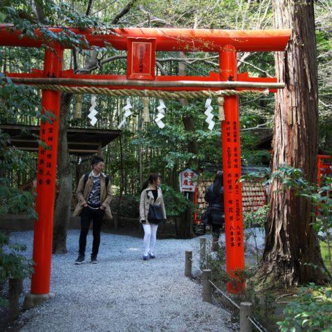 Japońska brama torii, fot. Beata Pawlikowska