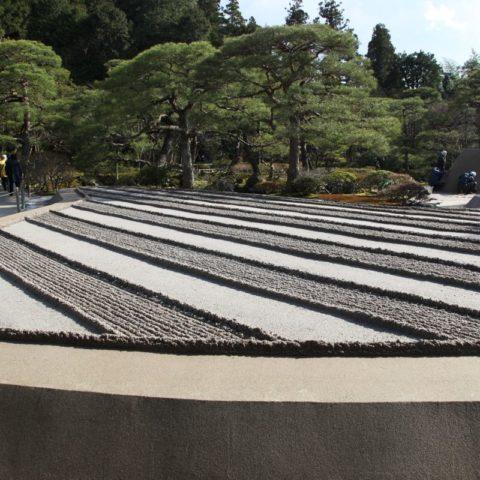 W japońskim ogrodzie piaskowym, fot. Beata Pawlikowska