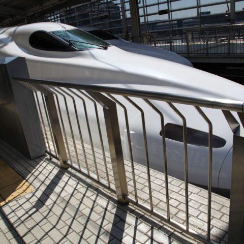 Japoński shinkansen, W pociągu w Japonii, fot. Beata Pawlikowska