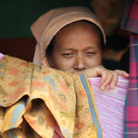 W tradycyjnej wiosce w Himalajach fot. Beata Pawlikowska
