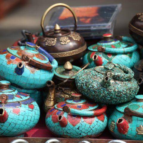 Nepalskie imbryki do herbaty fot. Beata Pawlikowska