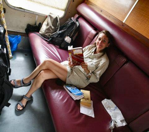 W pociągu w Tanzanii, fot. Beata Pawlikowska