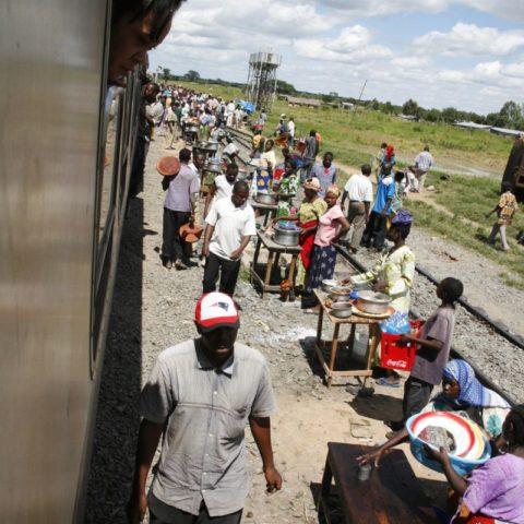 Pociągiem przez Afrykę, fot. Beata Pawlikowska