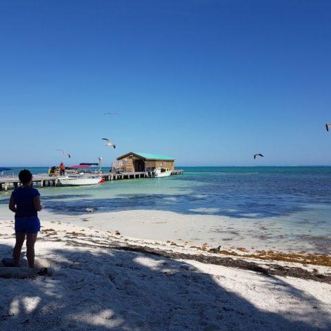 I turkusowa woda Morza Karaibskiego, fot. Beata Pawlikowska