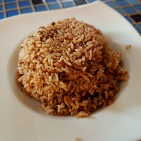 Ryż z fasolą - podstawa kuchni w Belize, fot. Beata Pawlikowska