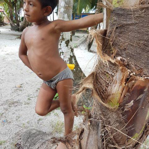 Chłopiec z plemienia Cuna, fot. Beata Pawlikowska