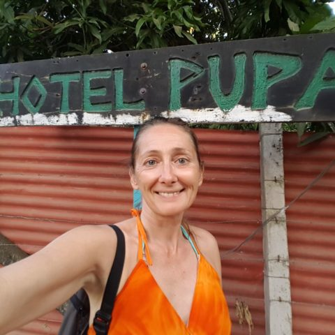 Hotel Pupa w El Tunco! fot. Beata Pawlikowska
