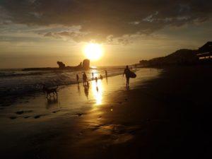 Plaża w El Tunco, fot. Beata Pawlikowska