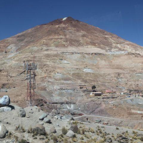 Cerro Rico, szczyt pełen srebra nad miastem, fot. Beata Pawlikowska