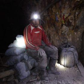 W kopalni srebra w Potosí w Boliwii
