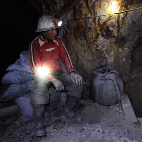 W kopalni srebra w Potosi, fot. Beata Pawlikowska