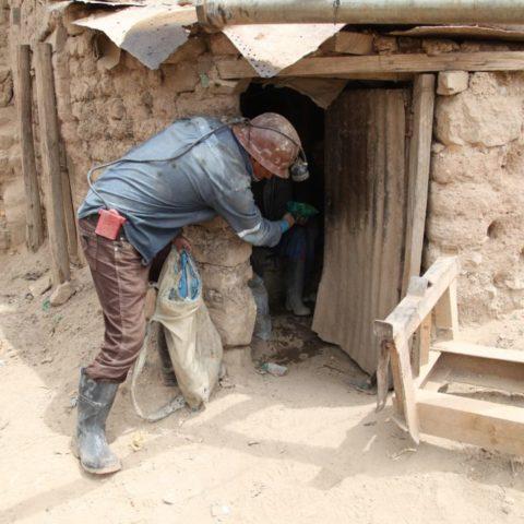 Kwatery robotników przy kopalni, fot. Beata Pawlikowska