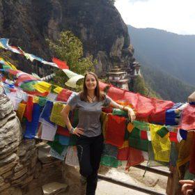 Jestem w Bhutanie