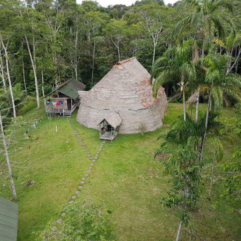 Indiańska maloka, czyli hotel w dzungli w Brazylii, fot. Beata Pawlikowska