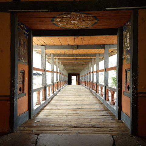 Brama do dzongu, czyli fortecy, fot. Beata Pawlikowska