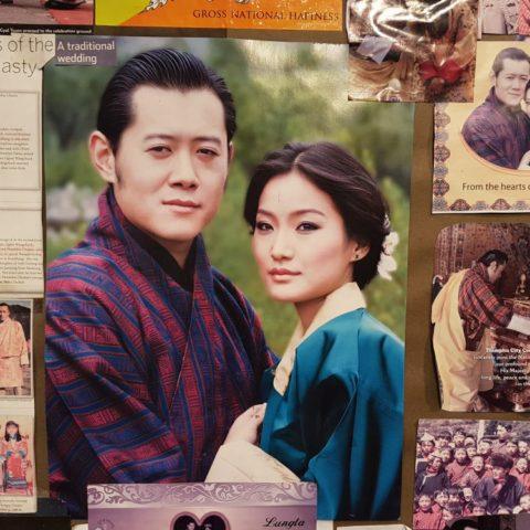 Król i królowa Bhutanu, fot. Beata Pawlikowska