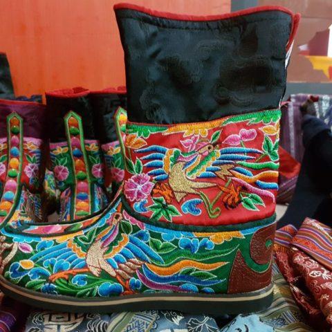 Buty Bhutanu, fot. Beata Pawlikowska