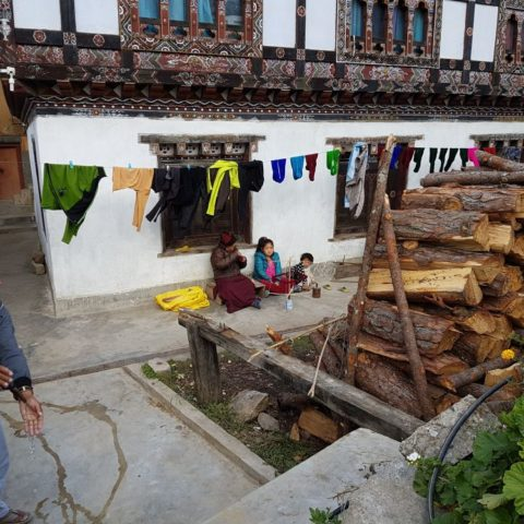 W bhutańskiej wiosce, fot. Beata Pawlikowska