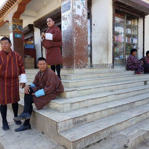W stolicy Bhutanu, Thimpu, fot. Beata Pawlikowska