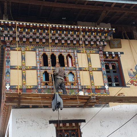 Ręcznie malowane okna, W żeńskim klasztorze, fot. Beata Pawlikowsk