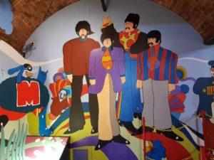 W muzeum Beatlesów, fot. Beata Pawlikowska