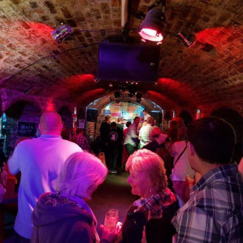 W klubie Cavern, fot. Beata Pawlikowska