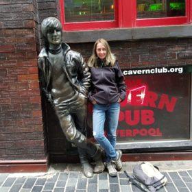 Blondynka w samo południe (34) - Blondynka w Liverpoolu
