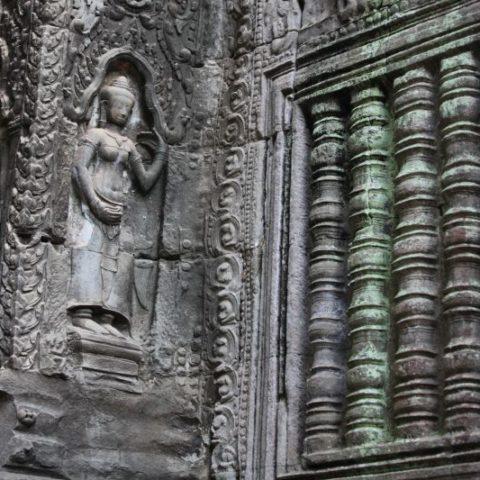 W Angkor, fot. Beata Pawlikoswska