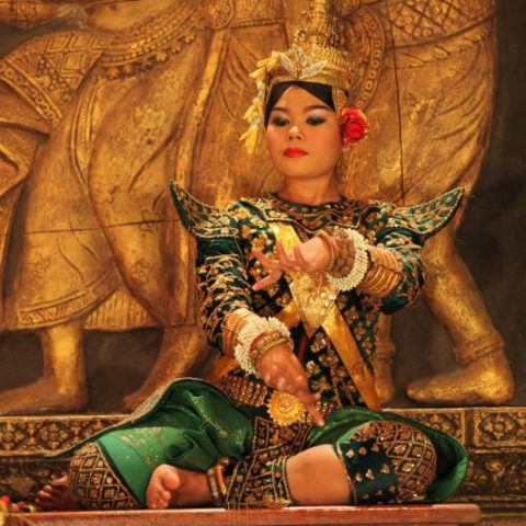 Tradycyjny taniec, Kambodża, fot. Beata Pawlikowska